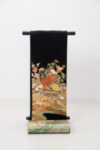 T-0002 ¥25,000  「四季の草花を描いた王朝風」   大幅値下げ → ¥18,000