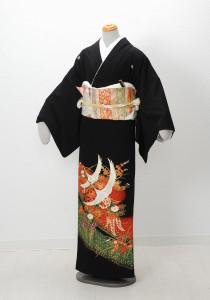 T-0005 ¥15,000 「鶴をポイントにしたあでやかな一品」    大幅値下げ → ¥13,000