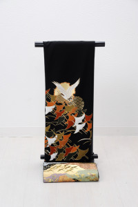T-0006 ¥25,000 「鶴の群れが飛立つさま」   大幅値下げ → ¥18,000
