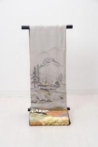 V-0009   ¥25,000 「水墨の世界を描いた加賀友禅」  大幅値下げ → ¥18,000