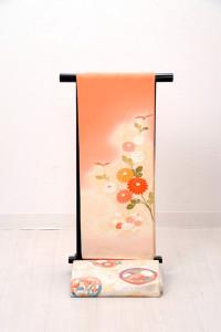 V-0004 ¥15,000 「シンプルにあしらった菊が印象的」  大幅値下げ → ¥13,000