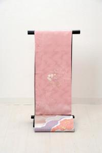 V-0001  ¥25,000  「色無地の世界に淡く花を添えた訪問着」  大幅値下げ → ¥18,000